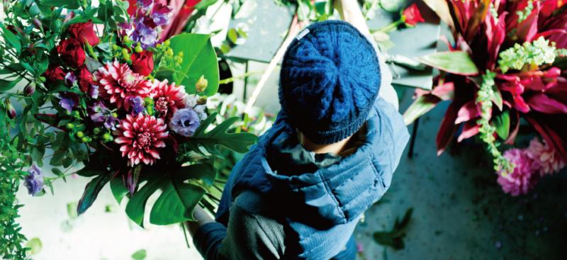 【花屋のたっちゃん】店舗を持たない花屋さん